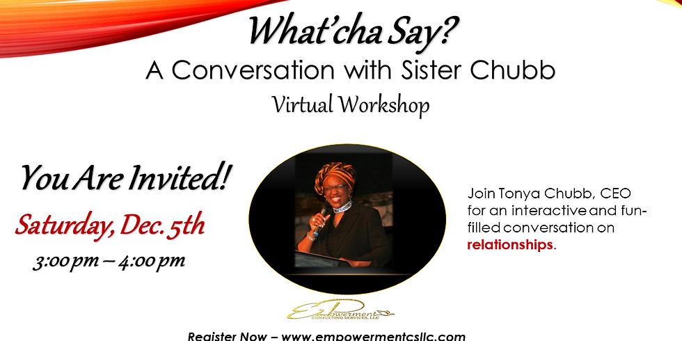 FREE Virtual Workshop: Relationships