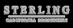 Sterling Logo- Darker Gray- Transparent