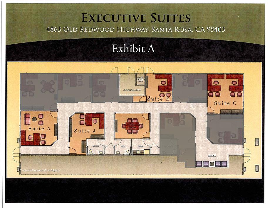 4863 Old Redwood Hwy Floor Plan Ste. J g
