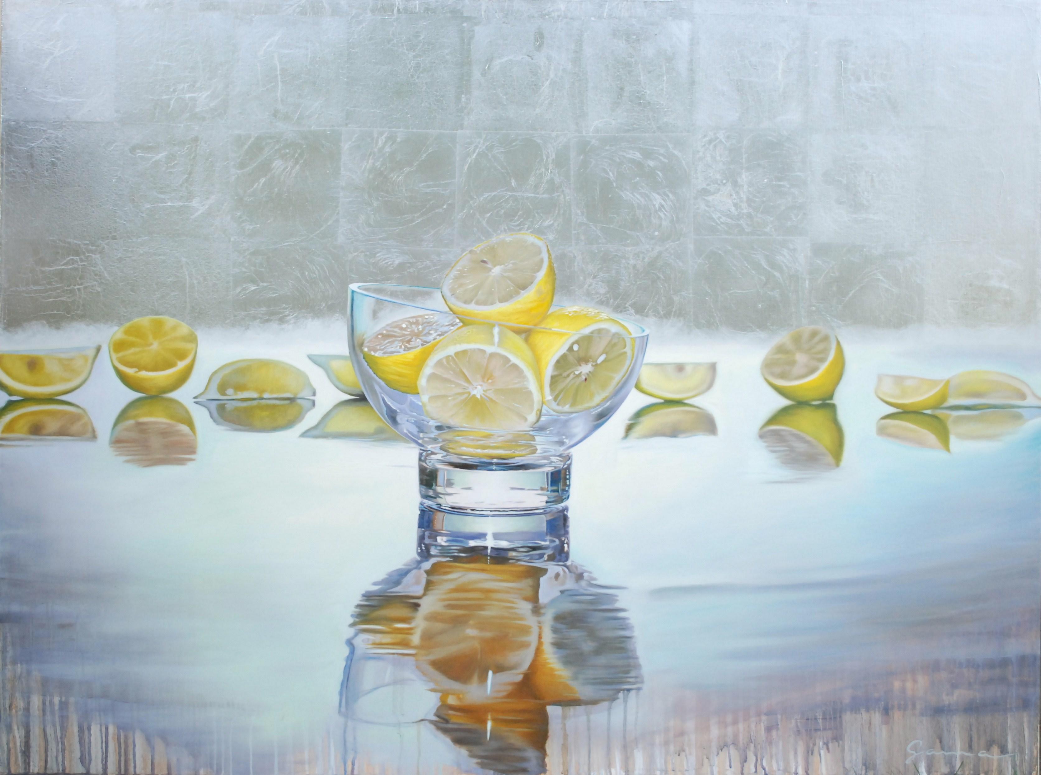 Moitiés et quarters de citrons