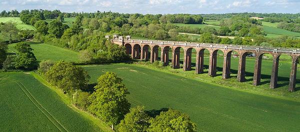 Viaduct at Haywards Heath in Mid Sussex
