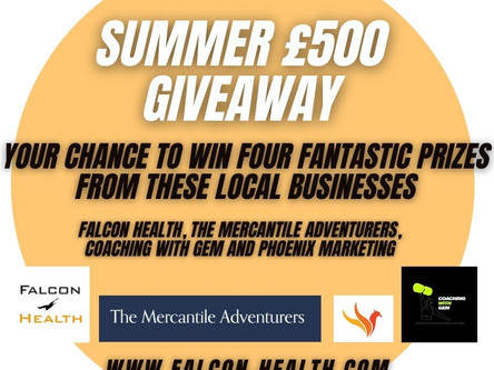 Have You Entered our £500 summer giveaway?