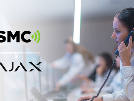 Ajax is now integrated with Security Monitoring Centres (SMC)
