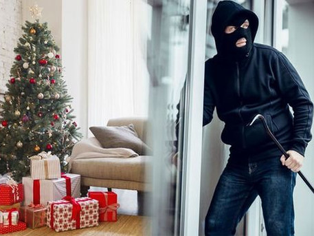 10 Crime prevention tips to protect your property this Christmas...