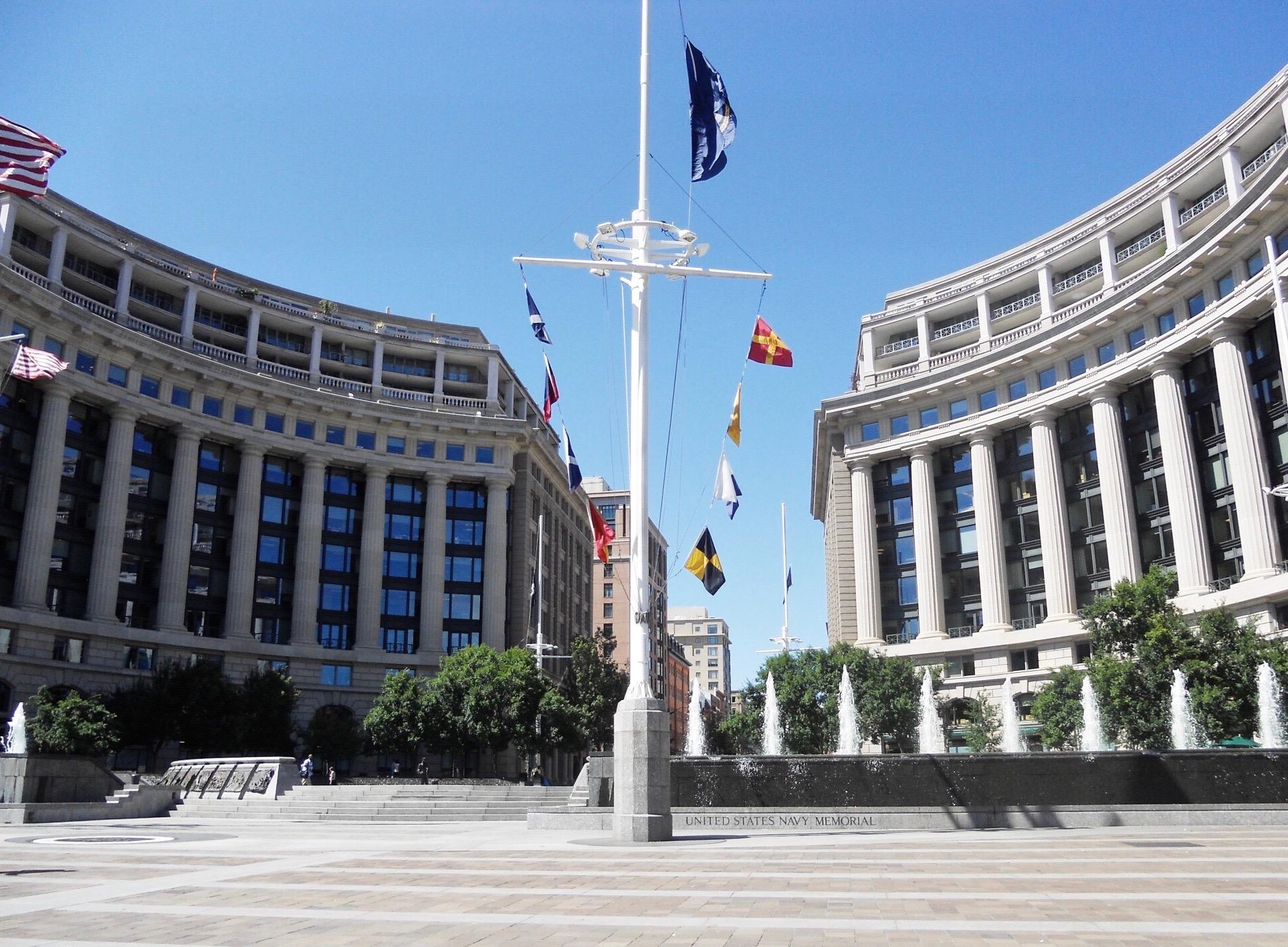 US Navy Memorial Plaza