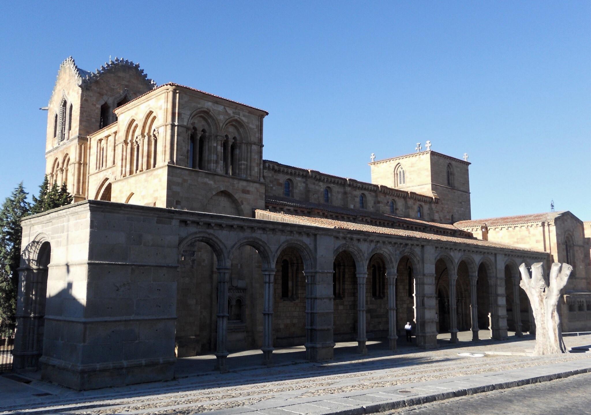 Basilica de San Vincente, Ávila