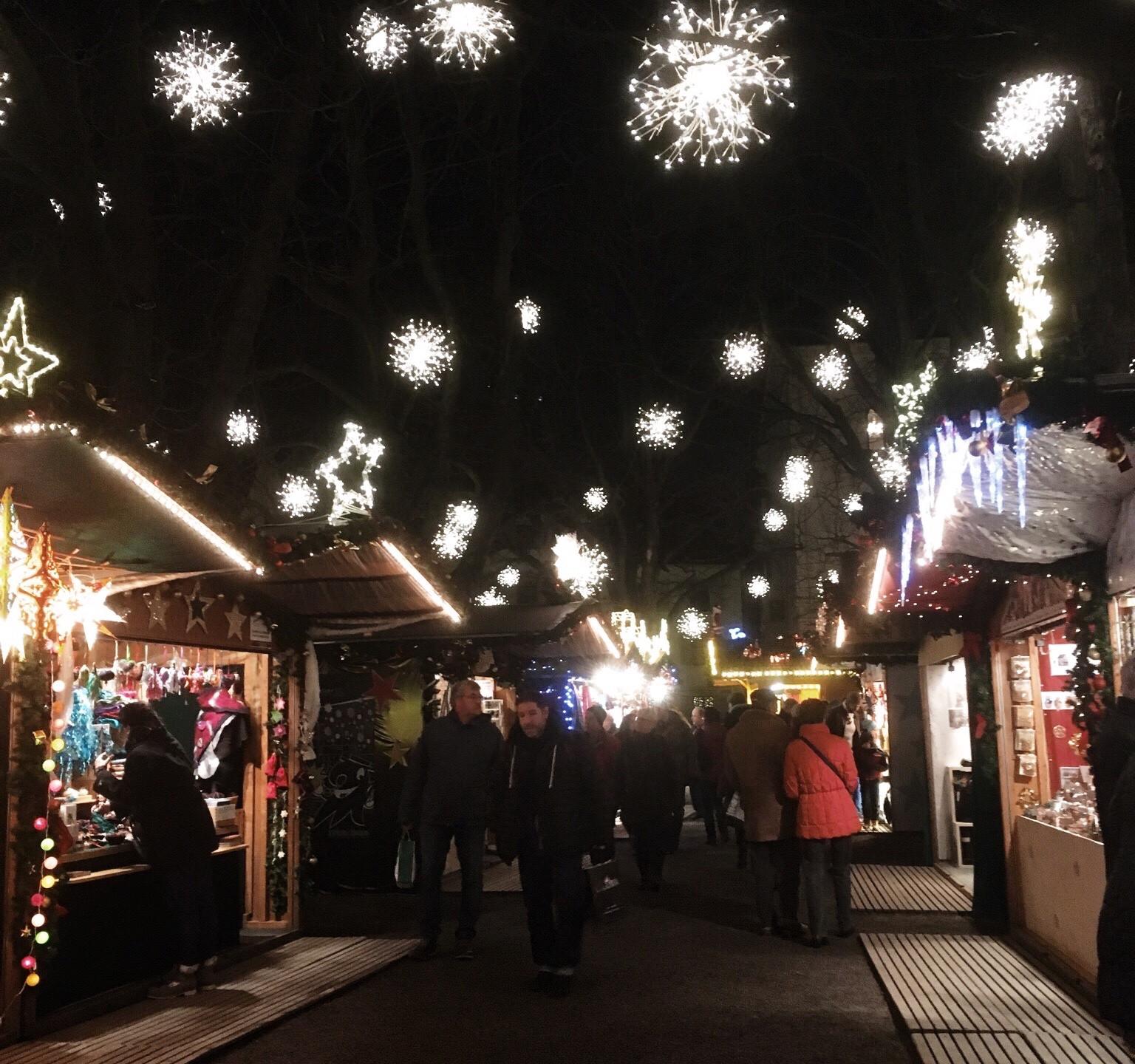 Basel Christmas Market, Münsterplatz