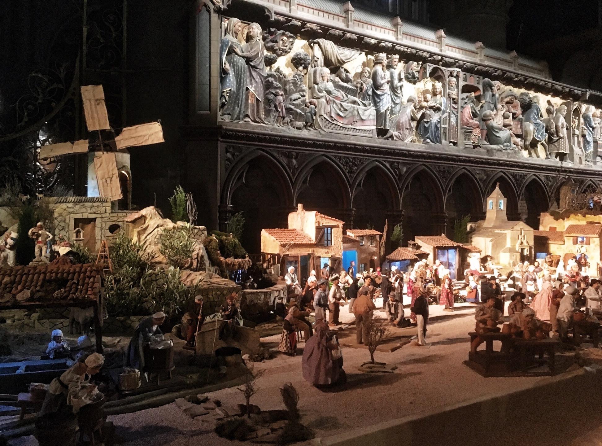 Notre Dame Nativity Scene