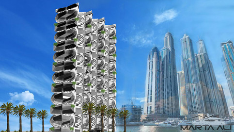 kintetic Tower _ Marta Ali Studios Tower