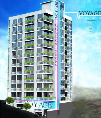 Voyage Condos + Shops_Perspective _ rend
