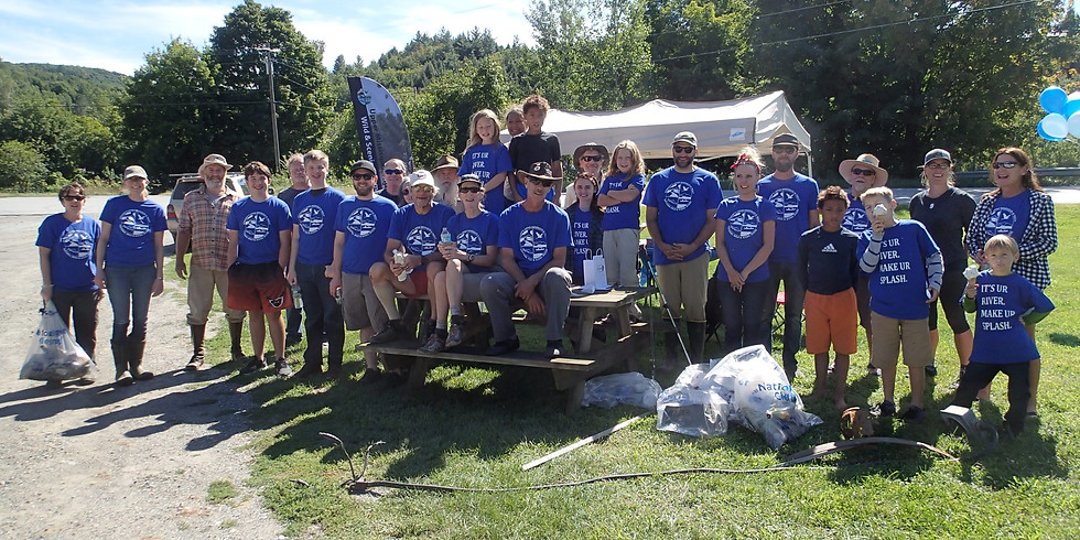 Montgomery River Clean-Up