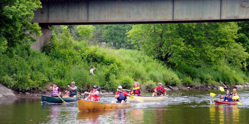 Missisquoi Paddle-Pedal and Richford River Fest