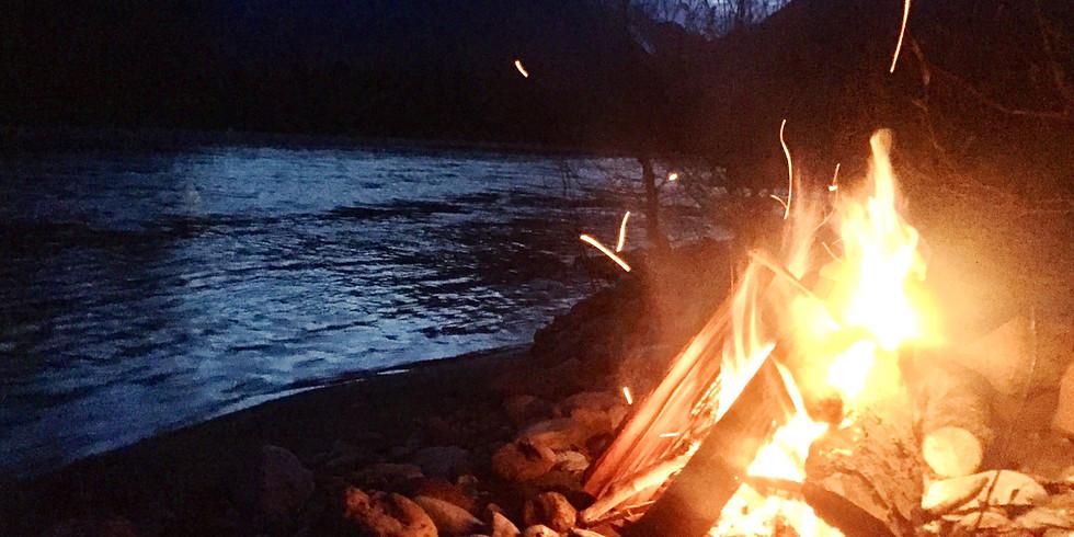 Bonfire Along The River (1)