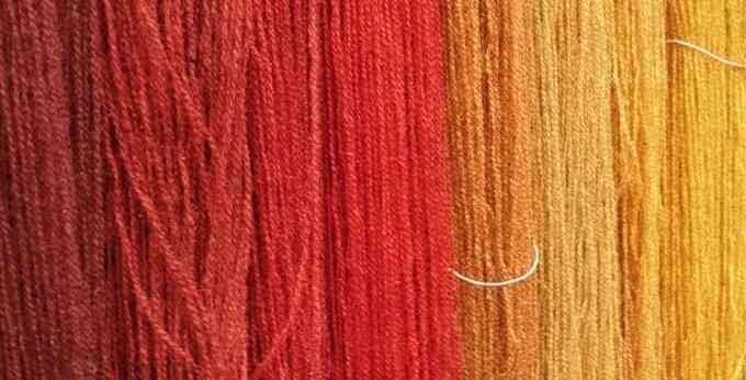 Startpakke-Rød&Rosa-Enkel med Garn