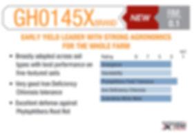 GH0145X Brand chart