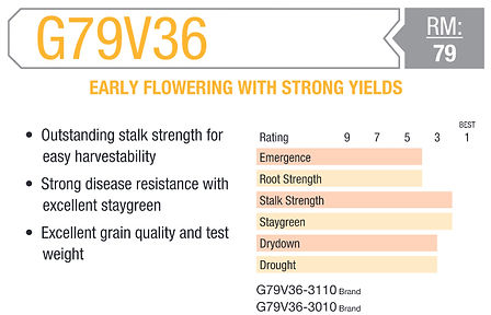 Early Flowering With Strong Yields chart