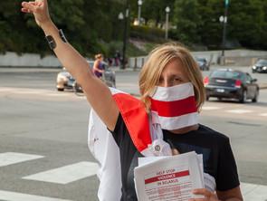 Жанна Чарняўская: Мы ганарымся нашым народам!