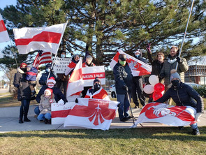 Buffalo Grove Rally in Support of Belarus 12.20.20