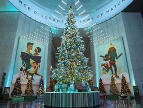 Belarusian Christmas Tree in Museum of Science and Industry!