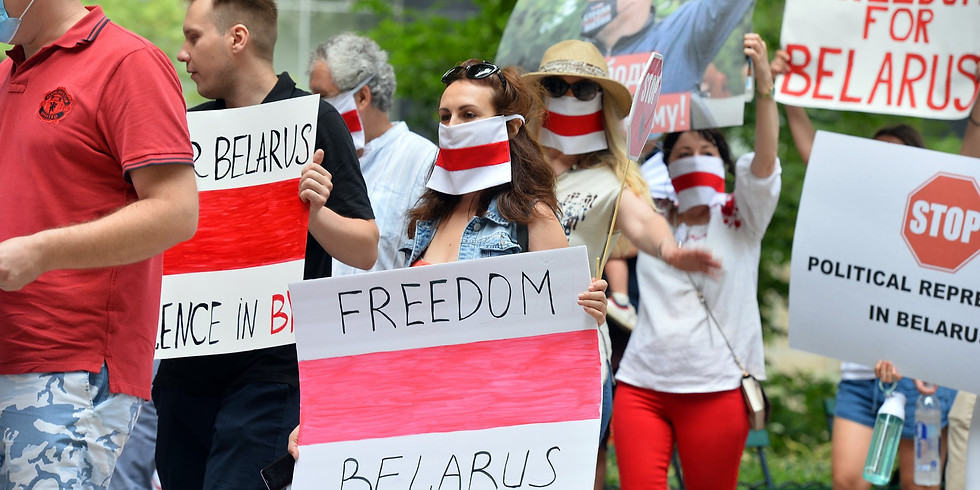 In Solidarity with People of Belarus Rally