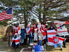 Buffalo Grove Rally in Support of Belarus 12.13.20