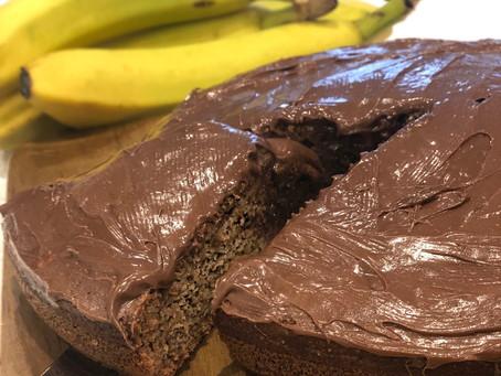 Healthy, moist banana cake recipe