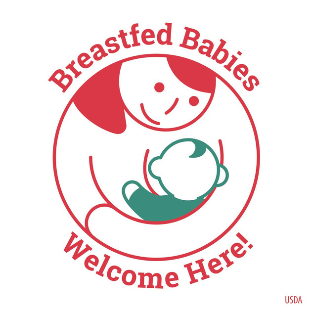 Message Graphics - Breastfed Babies Welc