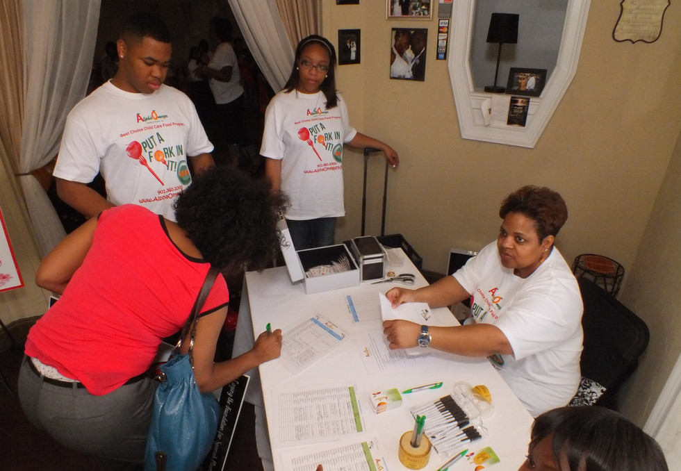 Sign-In with Volunteers