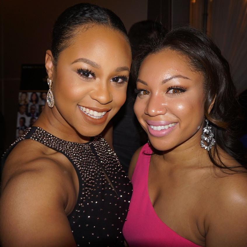 Christina and I