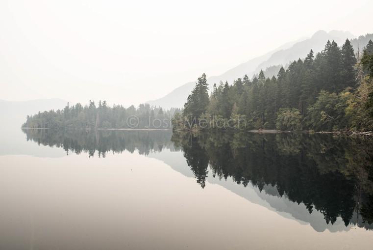Haze. Washington State