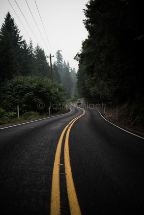 Backroad Vanishing Point