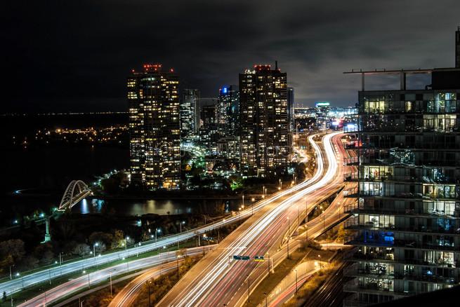 QEW Toronto ON