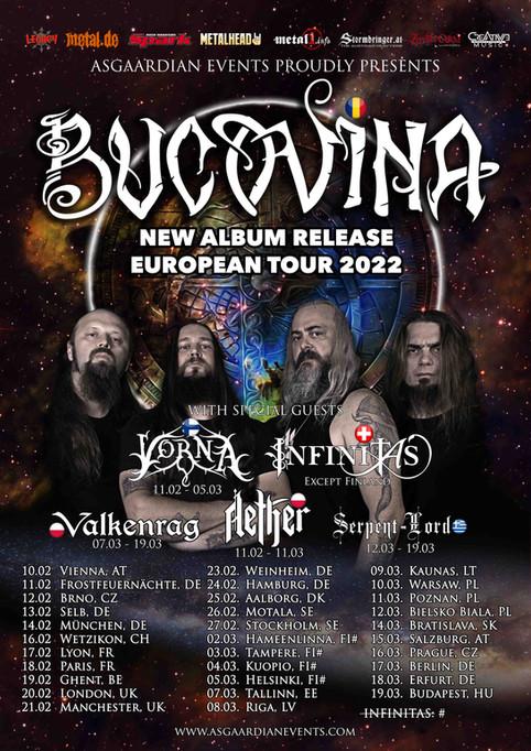 SERPENT LORD ANNOUNCE EUROPEAN TOUR