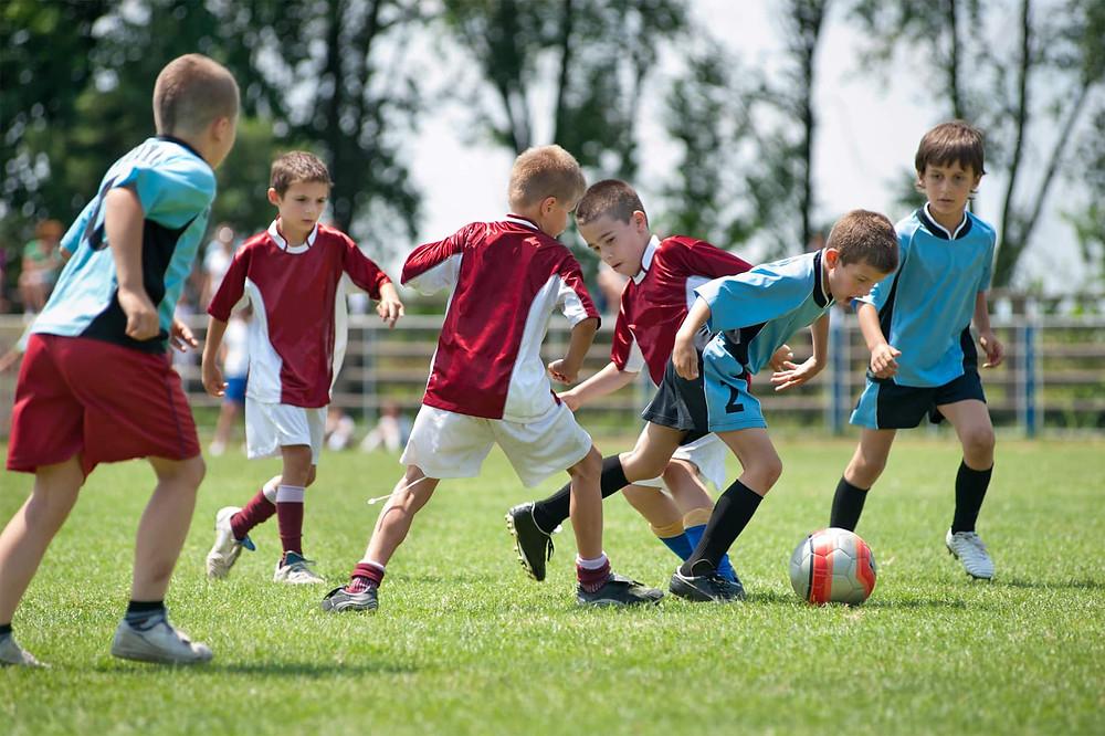 team sports children with ADHD