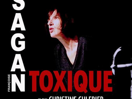 Toxique de Sagan par Christine Culerier / Avignon Off
