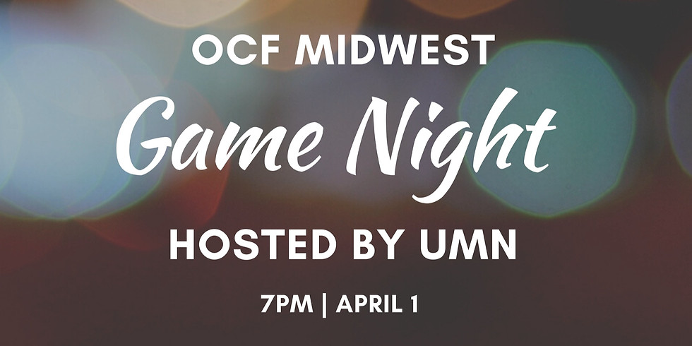 Midwest Regional Game Night