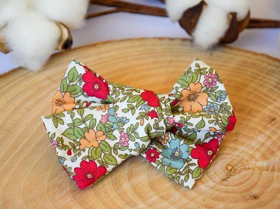 Noeud Butterfly Love Garden Coquelicot