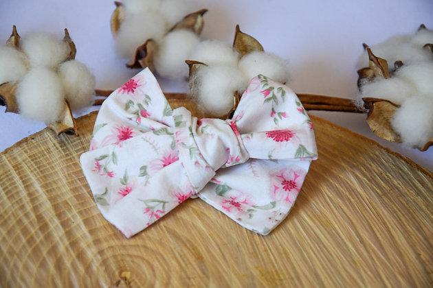 Noeud Butterfly Pink Flowers