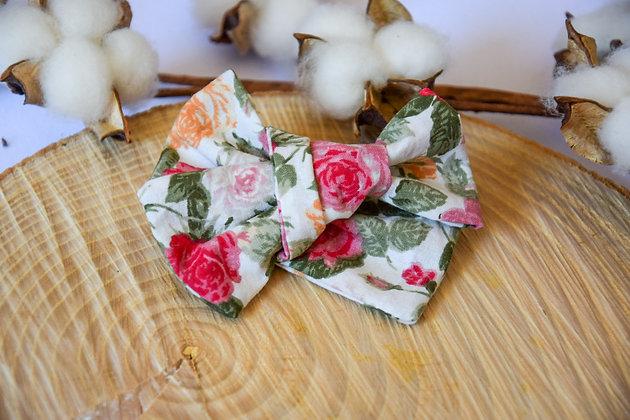 Noeud Butterfly Vintage Flowers