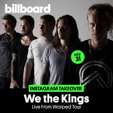 Billboard Instagram Story Takeover