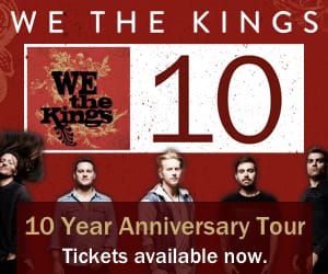 We The Kings 10 - On Sale Now!