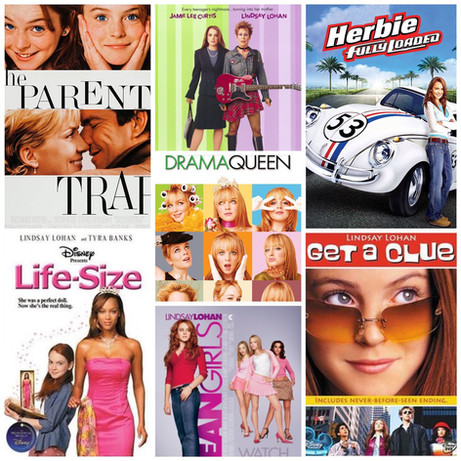 LLCU, USA: The Lindsay Lohan Cinematic Universe and Teen Girl Cults