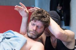 Joe at World massage championship