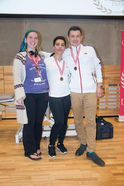 Freestyle winners