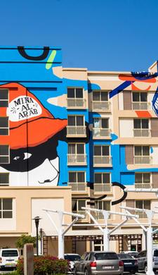 RAK Mural Brightens up the Neighborhoud