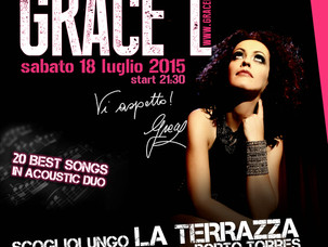 Grace L ospite a Porto Torres