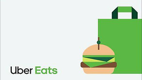 Uber Eats Gift Card - $25, $50, $100 - Email Delivery