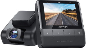 APEMAN Wi-Fi Dash Cam with App