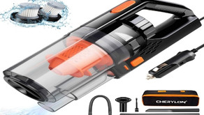 CHERYLON Portable Car Vacuum Cleaner High Power