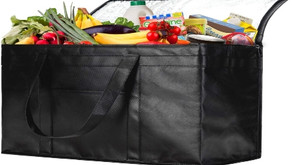 NZ Home XXL Insulated Grocery Bag,Hot & Cold Food Delivery Bag